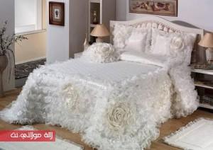 جديد الافرشة لسرير العروس