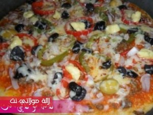 بيتزا سهلة وسريعة بالصور5