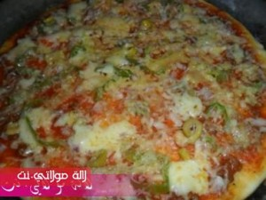 بيتزا سهلة وسريعة بالصور6