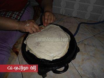طريقة تحضير الرفيسة المغربية بالتفصيل