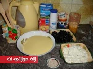 حريشات-بالجبن-والزيتون-الأسود-لذاذ-بالصور1