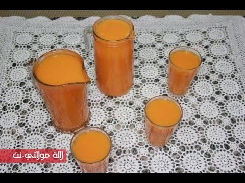 عصير القرع الأحمر